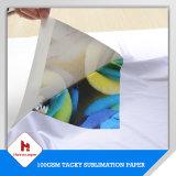 100GSM Bset Sublimation-Rollengrößen-klebriges Sublimation-Umdruckpapier für Sportkleidung