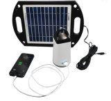 Indicatore luminoso di campeggio portatile di energia solare