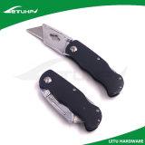 Cuchillo anodizado azul del cortador de papel de la seguridad