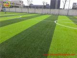 Relvado sintético sem chumbo para o tamanho padrão do futebol com certificação de RoHS