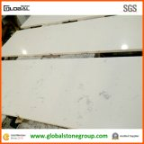 Dessus blancs de meubles de quartz d'ingénierie pour Hotel&Resort