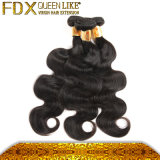 中国OEMの製造業者のカンボジアの波状毛の拡張を編む人間の毛髪