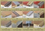 1*2cm Angel Estremità per 8mm e 12mm Flooring Accessories Aluminum Wood Coated