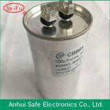 Condensador del acondicionador de aire del motor de CA Cbb65 - el comenzar y condensador corriente