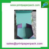 Коробка подарка роскошного изготовленный на заказ магнитного закрытия малая складывая