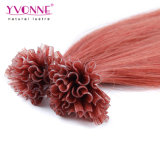 カラー#35 U先端の人間の毛髪の拡張