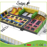 Professional Indoor Gymnastic Jump Slam Dunk Trampoline Park Builder