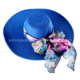 方法女性麦わら帽子、夏は野球帽を遊ばす