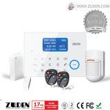 Het getelegrafeerde Draadloze GSM Alarm van het Huis met GSM van PSTN Dubbel Netwerk