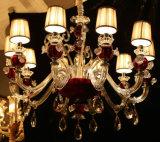 Phineの現代水晶装飾の吊り下げ式の照明設備ランプのシャンデリアライト