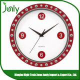 주문 잘 고정된 시계 석영 선전용 벽시계