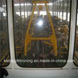 China draga hidráulica da bomba de areia do rio de 10 polegadas