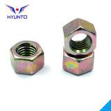 M12/Carbon Stahl/Sechskantmutter mit Farben-Zink