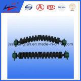 Rechte Spiraalvormige RubberRol en bi-Richting Spiraalvormige RubberRol voor de Transportband van de Riem