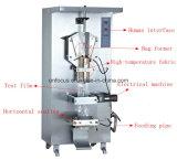 Machine à emballer façonnage/remplissage/soudure automatique de poche de ghee de l'eau