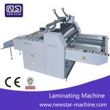 Siamesische halbautomatische lamellierende Maschine für thermischen Film
