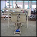 Bloque de cemento móvil portable que hace la máquina