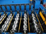 Feuille en acier colorée de toit de tuile d'étape effectuant former la machine