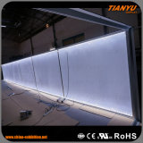 Ткань типа Seg алюминиевая рекламируя светлую коробку