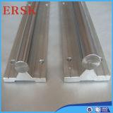 Trilho de alumínio SBR da sustentação do trilho/eixo da sustentação, trilhos de TBR