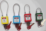 Sicherheit Steel Cable Shackle Padlock in Hot Design