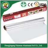 Roulis mou de papier d'aluminium de ménage