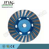 roue de meulage de cuvette de diamant de 100mm pour le granit