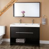 Тщета ванной комнаты твердой древесины Fed-1249, шкаф ванны