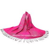 Écharpe principale tissée par jacquard de mode pour Madame Pashmina
