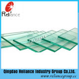 Ce/ISO Certificates o vidro desobstruído do vidro de flutuador de 12mm/edifício/vidro Tempered/vidro liso do vidro/indicador