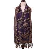 шарф способа шали зимы Pashmina зимы 196*90cm крупноразмерный