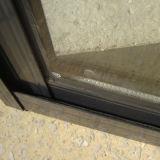 Guichet de glissement en aluminium de blocage en croissant enduit de poudre de bonne qualité Kz093