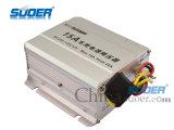 CC 24V del convertitore di potere dell'automobile di Suoer al convertitore dell'alimentazione elettrica 12V con il migliore prezzo (SE-15A)