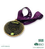Médailles d'argent Shaped carrées pour le contact de sport