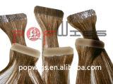 I capelli umani pieni tutti del nastro eccellente colorano l'estensione accettabile dei capelli del nastro di Hotselling