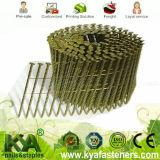Galvanisierte pneumatische Schrauben-Schaft-Ladeplatte gemischte Nägel