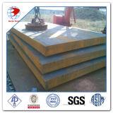Placa de acero suave laminada en caliente de carbón de ASTM A36 A283 A572 A516