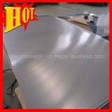 Plat titanique d'alliage de Ti6al4V Eli ASTM F136, feuille titanique médicale