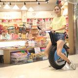 Elektrisches Hochgeschwindigkeitsmotorrad mit einem Radunicycle-Roller