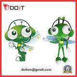 昇進のための顧客用プラシ天のおもちゃの緑のカ