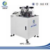 中国の専門の製造者SGSが付いている自動ワイヤーターミナルひだが付く機械
