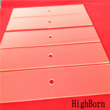 Clear modificado para requisitos particulares Ceramic Glass Plate Used para Oven Window