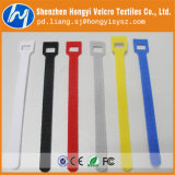 조정가능한 Colorful Nylon Hook 및 Loop Taple Cable Tie