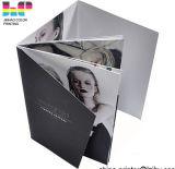 Service d'impression coloré de brochure (jhy-010)