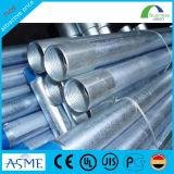 Prezzo galvanizzato zinco del tubo d'acciaio dei materiali da costruzione
