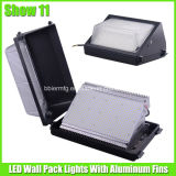UL ETL Approved를 가진 주차 Lot 120 Watt LED Wall Pack Lamp