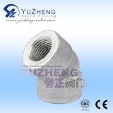 Roestvrij staal 304/316 T-stuk van de Hoge druk