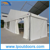 Grande tente en aluminium extérieure d'événement de chapiteau de mariage de PVC de blanc