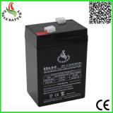 6V 4ah nachladbare gedichtete Leitungskabel-Säure-Batterie für Emergengcy Beleuchtung