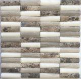 床タイルのための混合されたカラー自然な石造りの大理石のモザイク